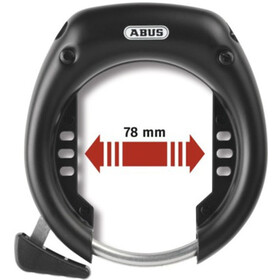 ABUS Shield 5650 L R OE Runkolukko, black